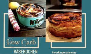 Rezept Low Carb Käsekuchen ohne Boden