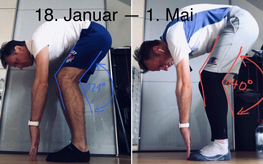 Dehnübungen für die Beine